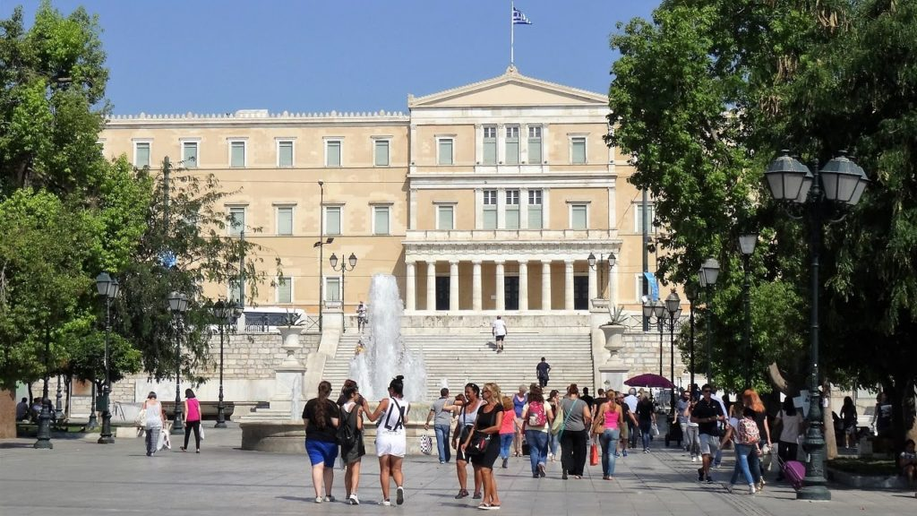 Syntagma Square closed off on Sunday for Hollywood film shoot 2