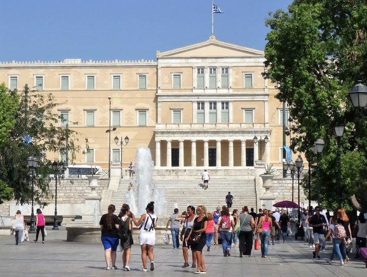 Syntagma Square closed off on Sunday for Hollywood film shoot 40