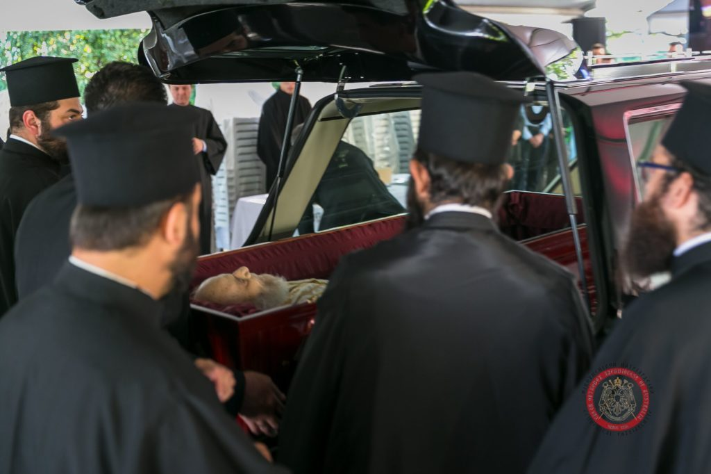 Memorial Trisagion Service held in blessed memory of the late Archbishop Stylianos 12