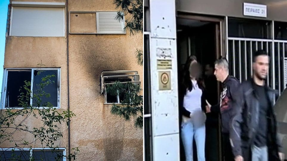 1-year-old baby left alone dies in tragic house fire in Varkiza, Athens 2