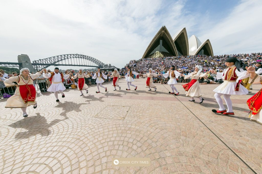 Greek Independence Day Commemoration in Sydney, Australia 26