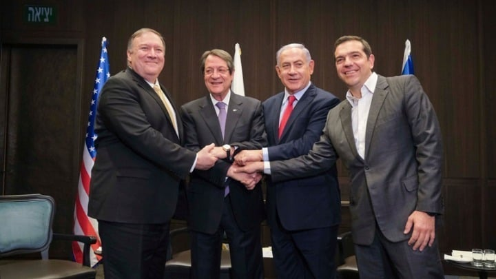 Greece, Cyprus, Israel, and US join to promote peace and stability in eastern Mediterranean 2