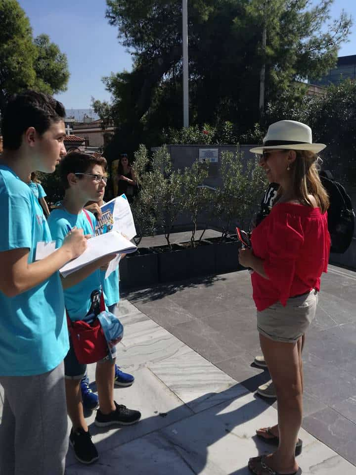 Athens teacher creates project to help students and promote tourism in Greece 12