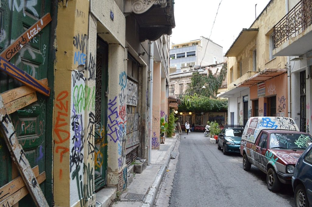 Athens set to receive makeover with major clean up of graffiti 3