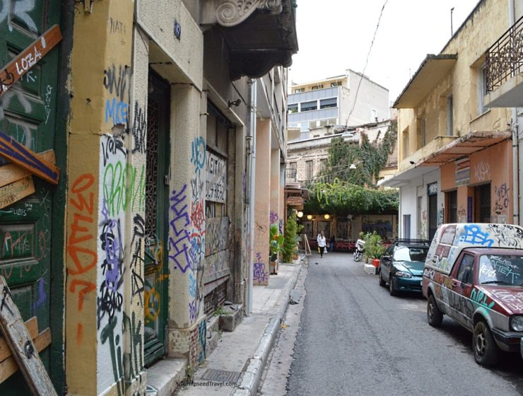 Athens set to receive makeover with major clean up of graffiti 7