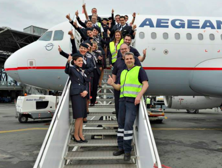 Aegean named Best Regional Airline in Europe for 2019 84