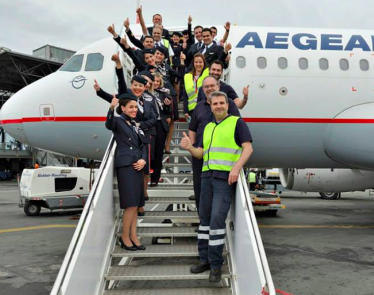 Aegean named Best Regional Airline in Europe for 2019 7