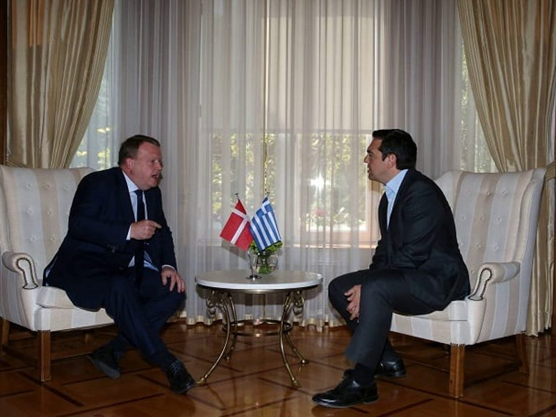 Danish Prime Minister on official visit to Greece 1