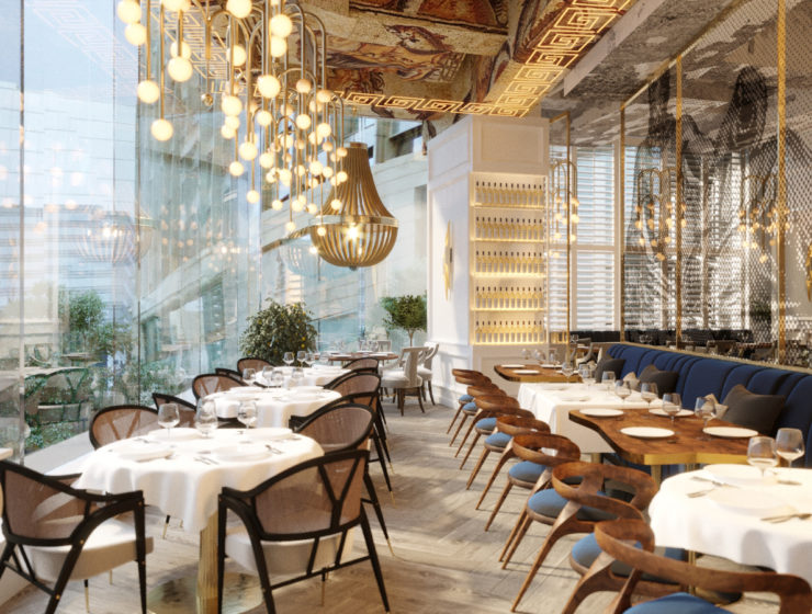 Jaw-droppingly beautiful Greek restaurant opens in the heart of Hong Kong 22