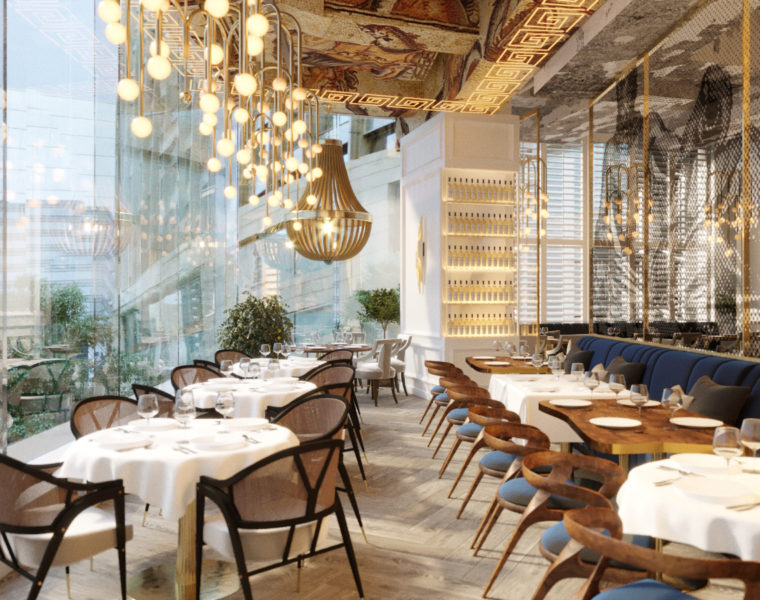 Jaw-droppingly beautiful Greek restaurant opens in the heart of Hong Kong 41
