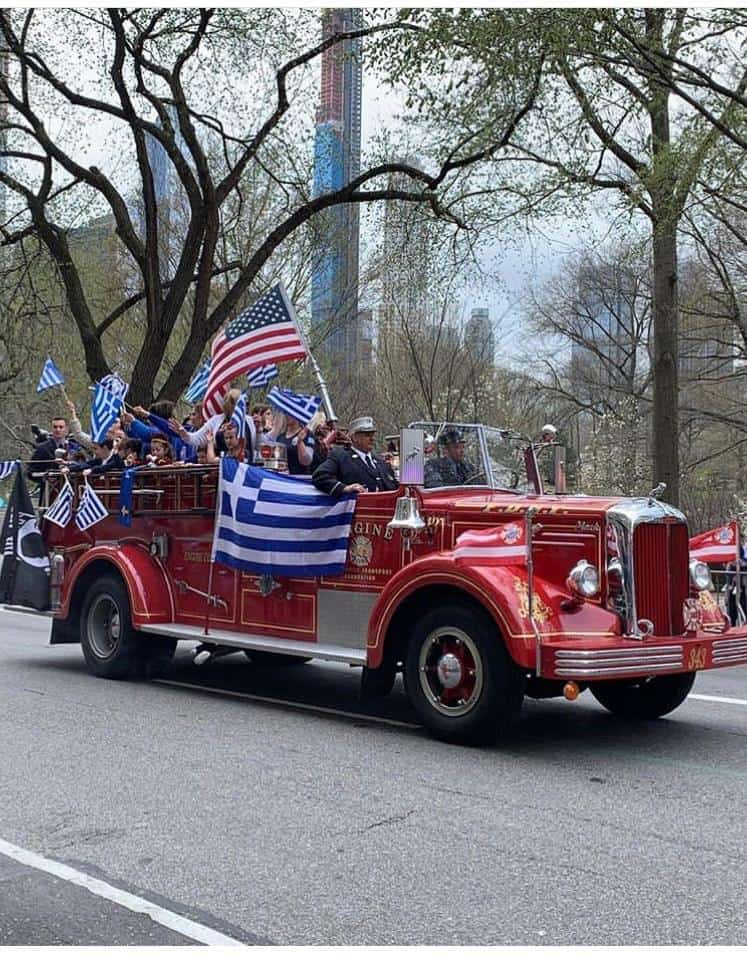 Manhattan turns Blue & White for Greek Independence Parade (PICS & VIDEO) 9
