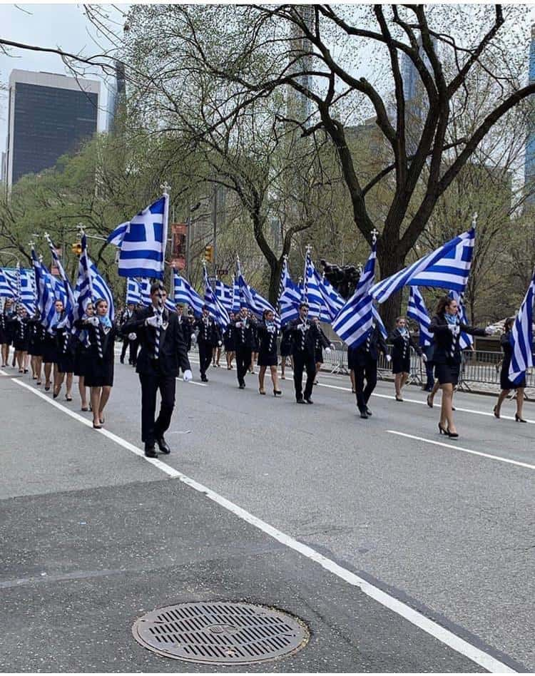 Manhattan turns Blue & White for Greek Independence Parade (PICS & VIDEO) 7