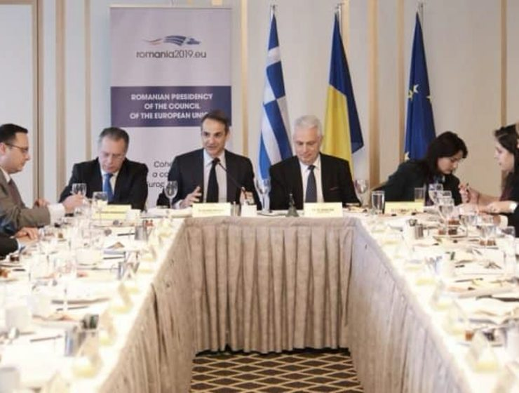 Opposition Leader meets with EU member ambassadors in Athens 12