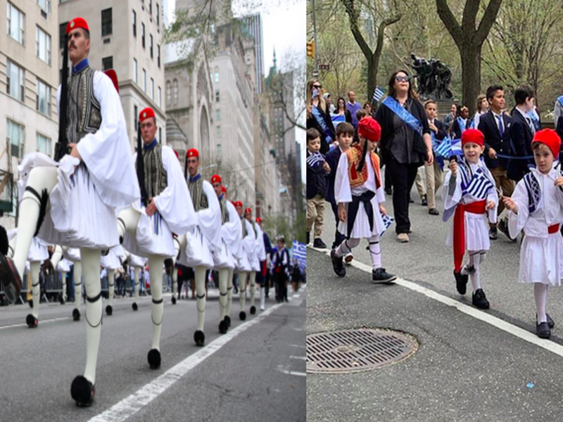 Manhattan turns Blue & White for Greek Independence Parade (PICS & VIDEO) 1