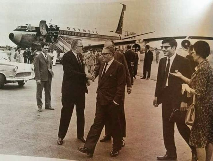 "On this day in 1957, Onassis buys Olympic Airways and the ""Golden Era"" begins 1"