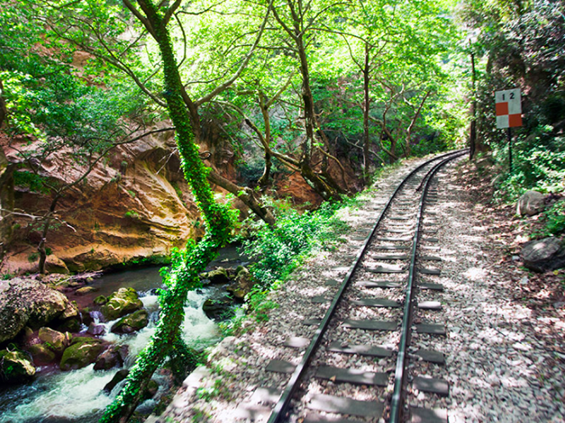 Full steam ahead for new railway line in the Peloponnese 1