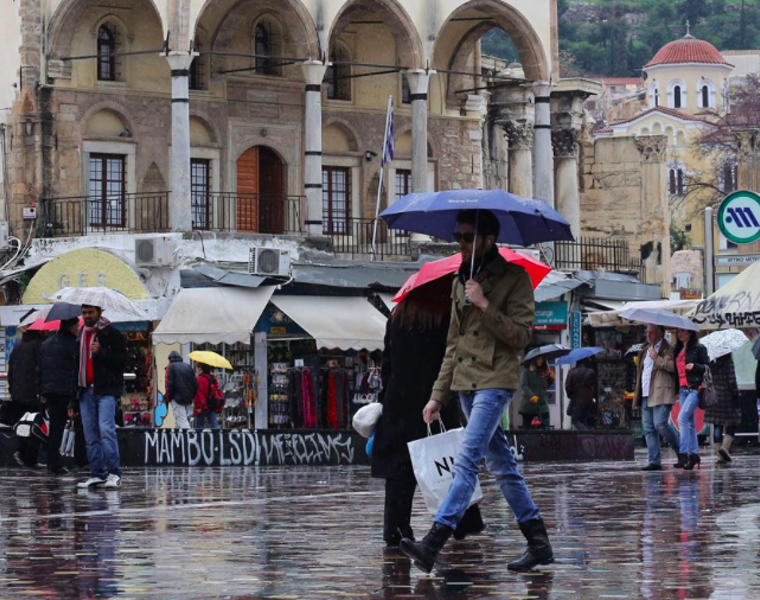 Rainstorms and strong winds to hit Greece this weekend 27