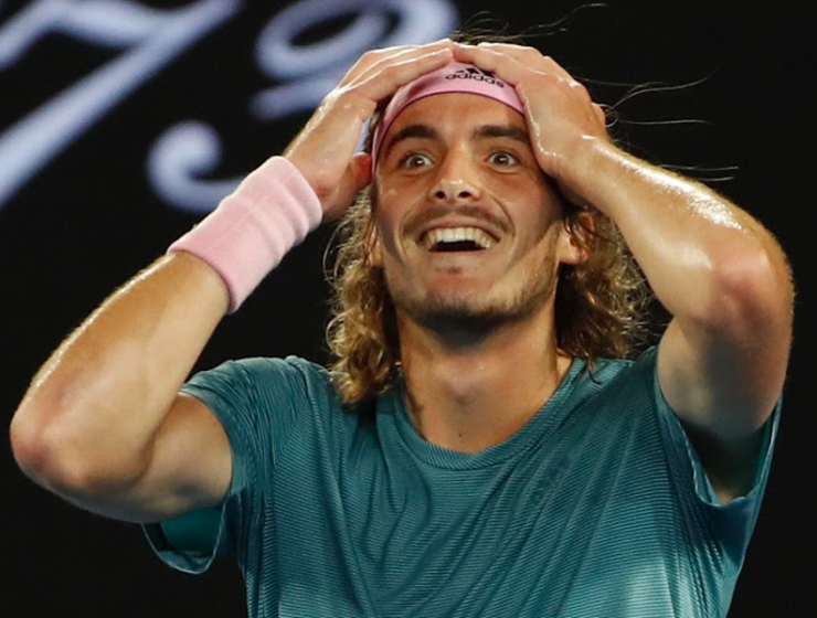 Sensational Tsitsipas moves up to Number 8 in ATP Rankings 25