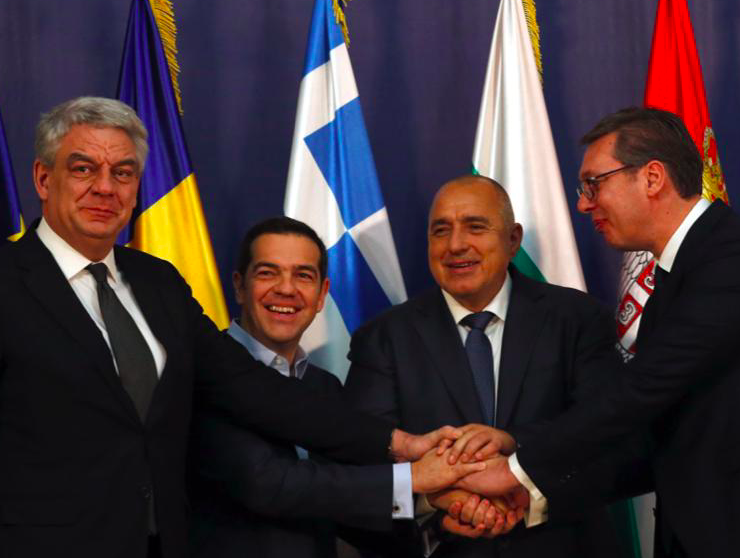 Greece, Romania, Bulgaria, Serbia to reshape the Balkans 9