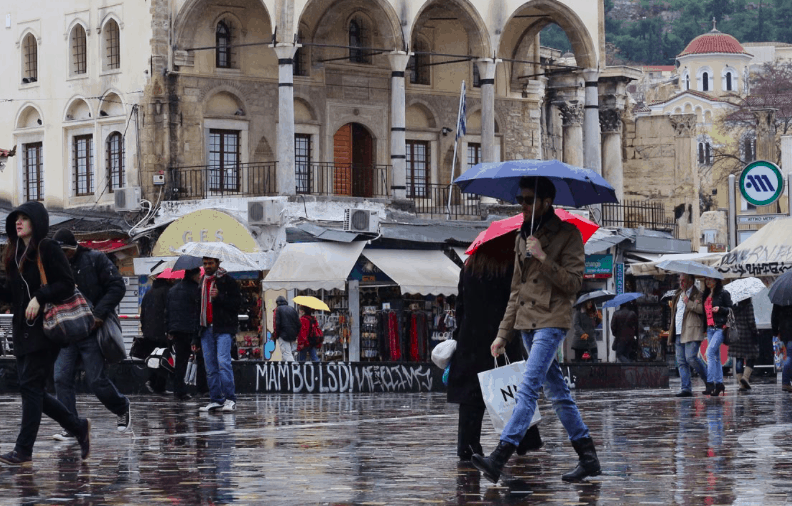 Rainstorms and strong winds to hit Greece this weekend 3