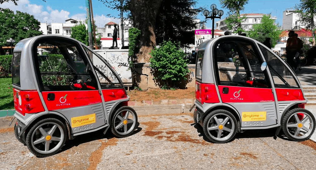 Trikala launches electric vehicles for locals and visitors to the city 3