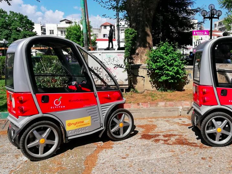 Trikala launches electric vehicles for locals and visitors to the city 1