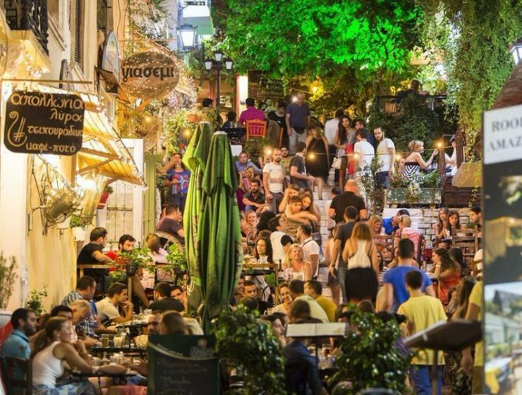 Athens' best cafe for people watching 1