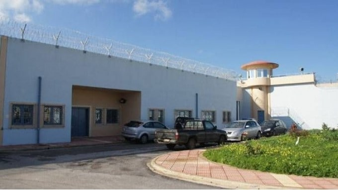 Easter riots in Chania jail 1