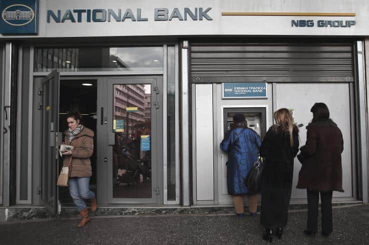 Greek bank transactions to be affected on April 19 and 22 2