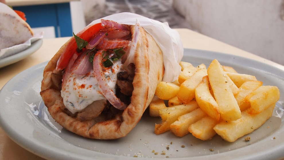 Price Of Souvlaki Pita In Greece Increases To 3 Euro Greek City Times He is a light blue stick man. greek city times