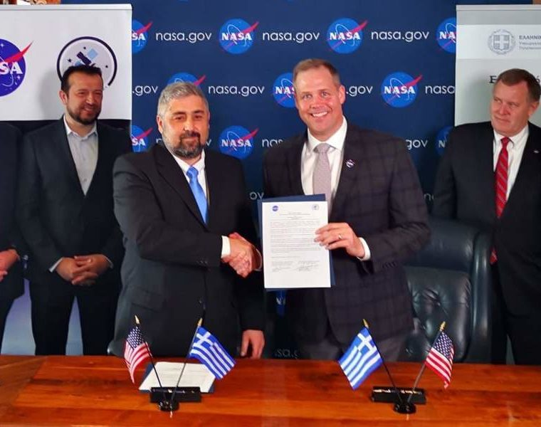 Greece enters space race with NASA 8