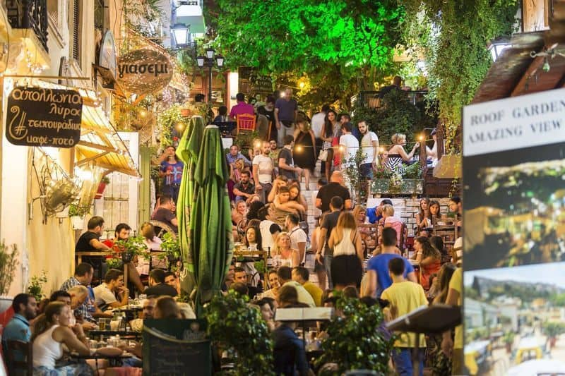 Athens' best cafe for people watching 15