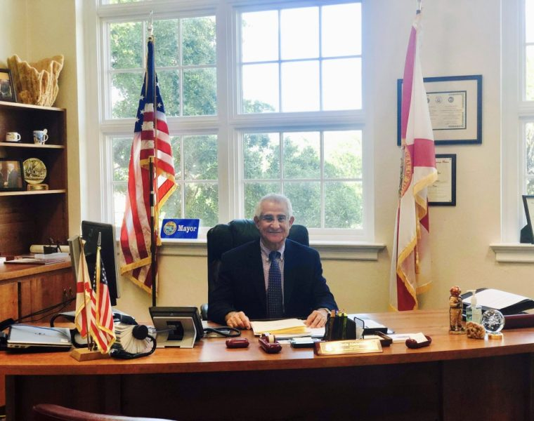 Greek-born Mayor of Tarpon Springs, re-elected to serve US city with highest percentage of Greeks 73
