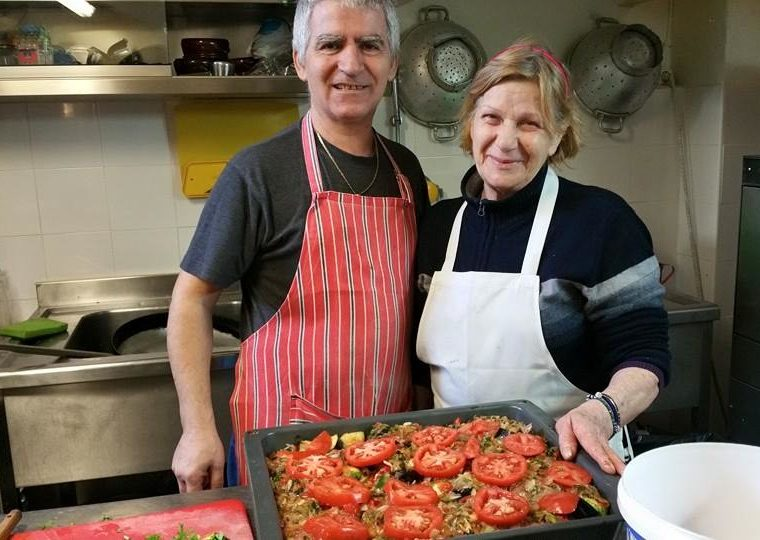 Self-taught chef cooks Greek food 'made with love' everyday at her popular Athens tavern 29