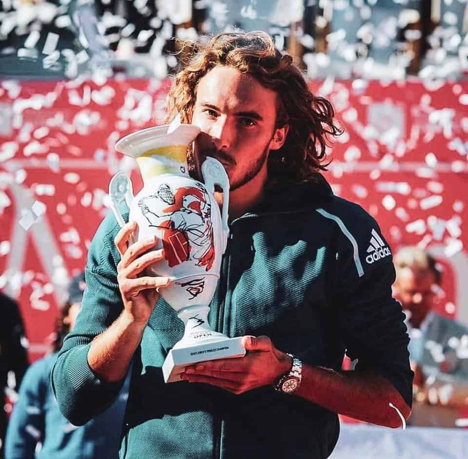 Tsitsipas claims maiden clay title in Estoril
