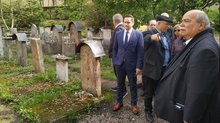 Greek Parliament President and Patriarch in Poland for Holocaust events 6