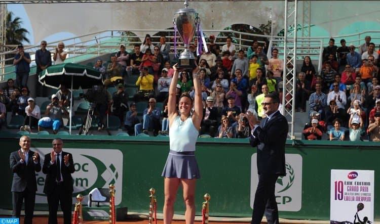 Greece's Maria Sakkari makes history winning WTA title in Morocco 2