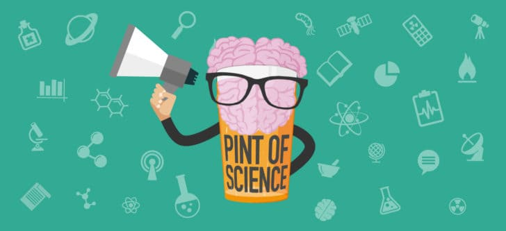 "Greeks drink up to annual ""Pint of Science"" festival 1"