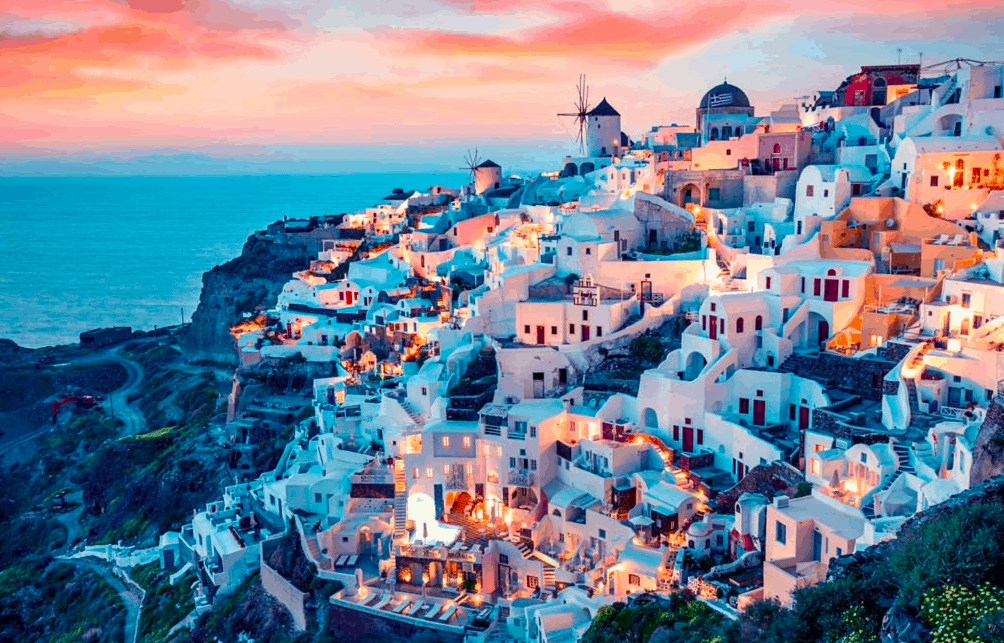 Santorini named 'Best Island in Europe' for 2019 3