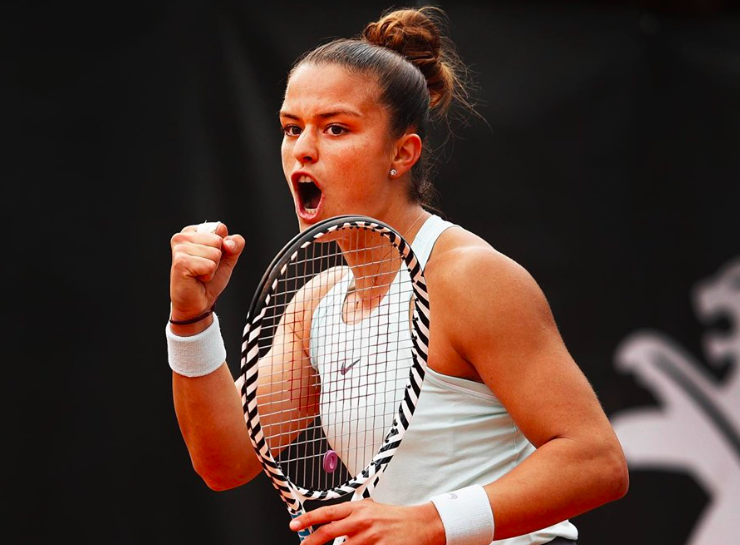 Greece's Maria Sakkari storms into Rome quarter-finals 20