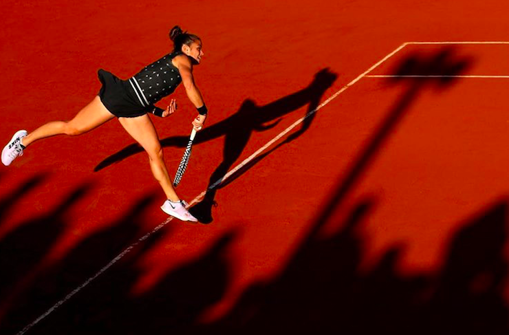 Greece's Maria Sakkari smashes her way through to second round of French Open 16