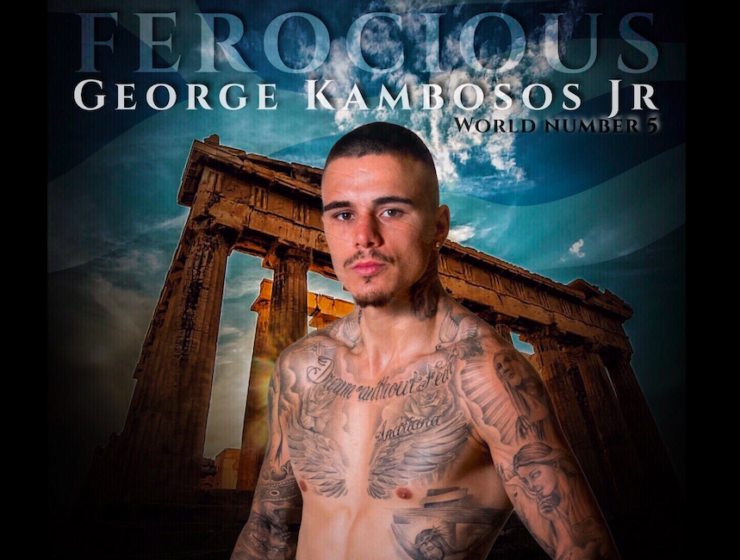 George 'Ferocious' Kambosos Jr gears up for his big fight in Athens 1