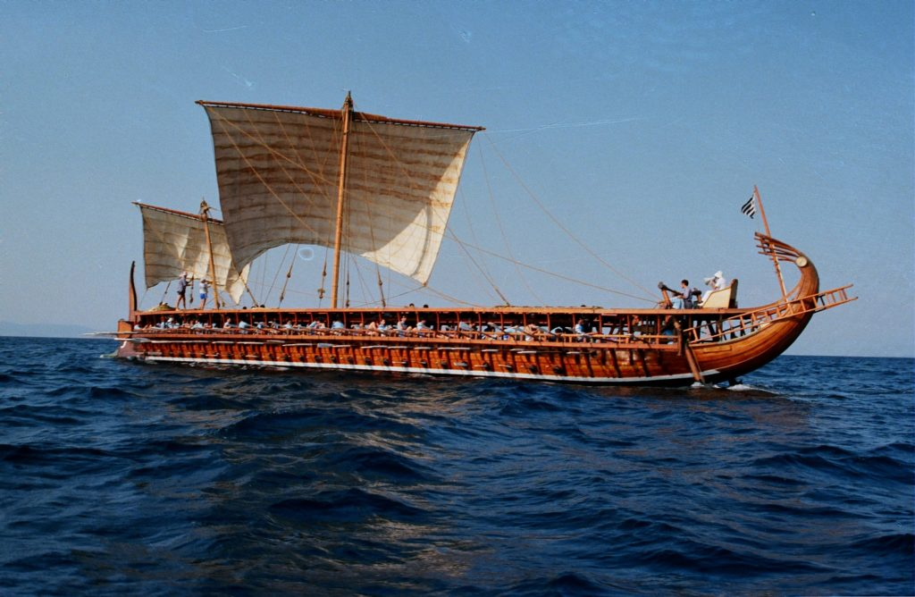 """Ancient trireme """"Olympias"""" invites you to row into history 2"""