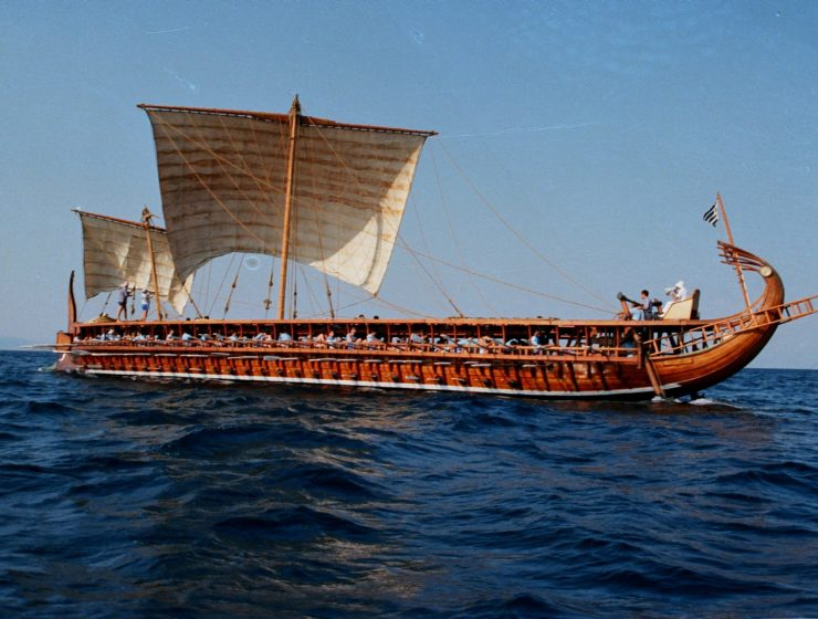 "Ancient trireme ""Olympias"" invites you to row into history 1"