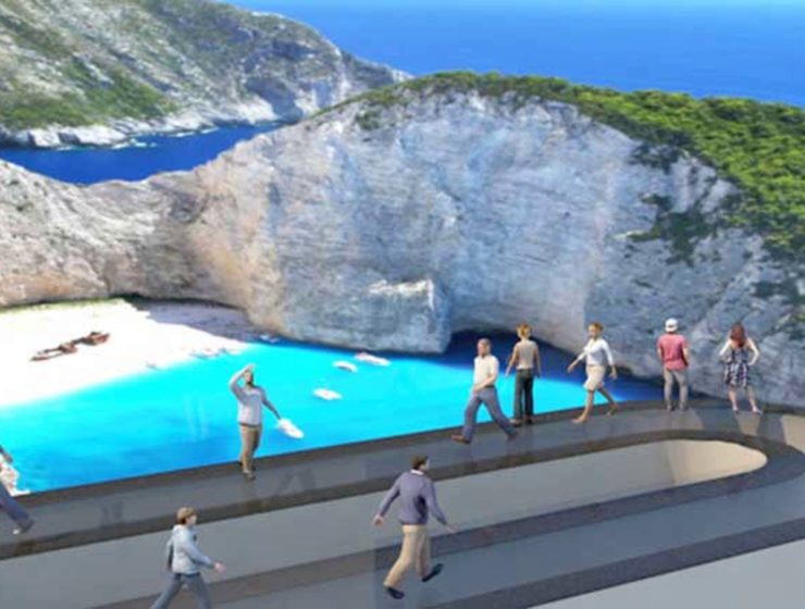 Zakynthians submit plans for new theme park surrounding Navagio Beach 46