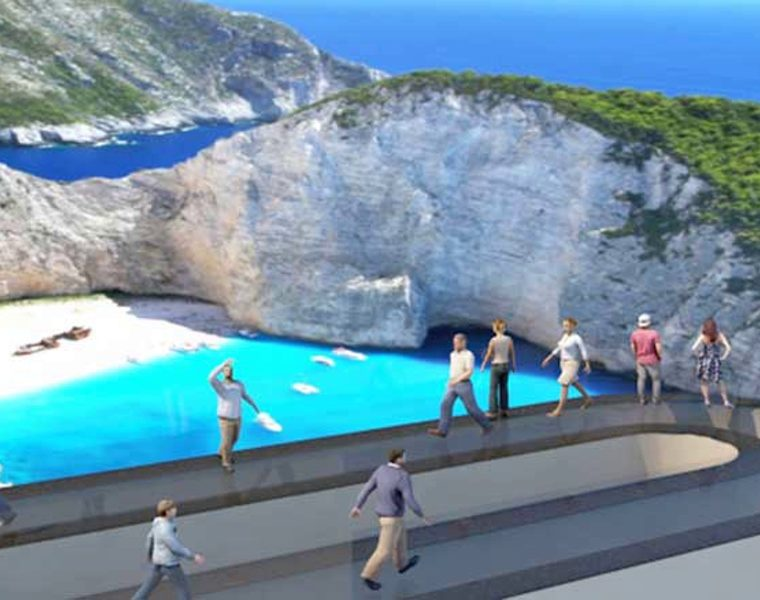 Zakynthians submit plans for new theme park surrounding Navagio Beach 23