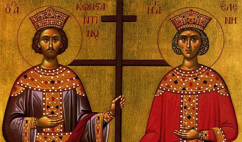 May 21 Feast Day of Agios Konstantinos and Agia Eleni 2
