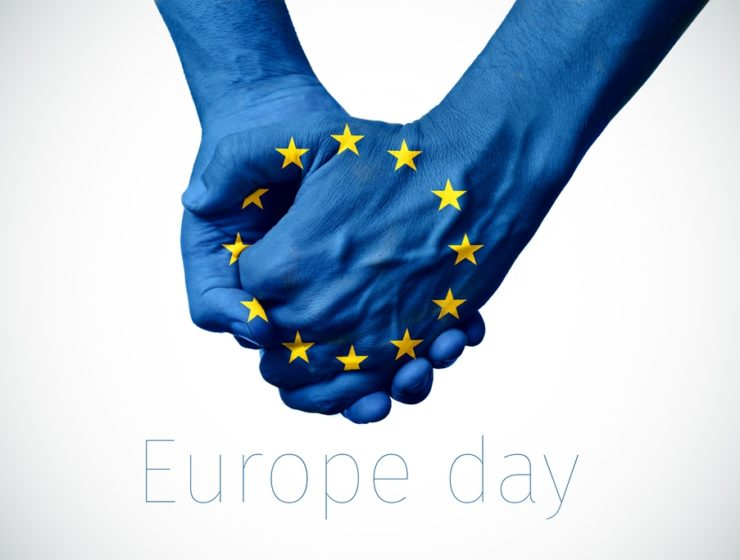 Greek President along with all European Leaders celebrate Europe Day 2