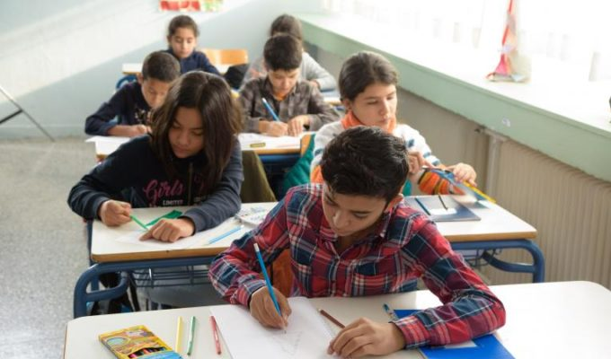 More than 12,000 refugee children attended Greek public schools 5