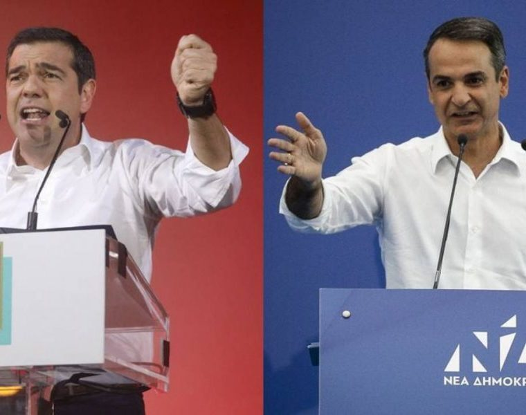 Tsipras calls on Mitsotakis for election debates 37